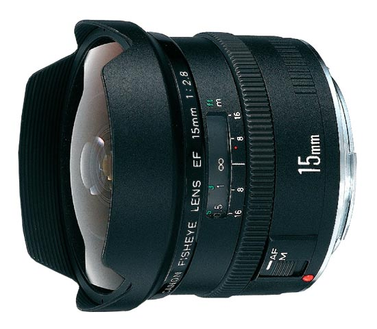Canon EF 15mm f/2,8 Fisheye
